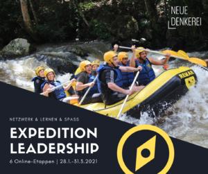 Fortbildungsangebot Expedition Leadership für Führungskräfte, 6x 2 Std. Online, Jan.-März 2021